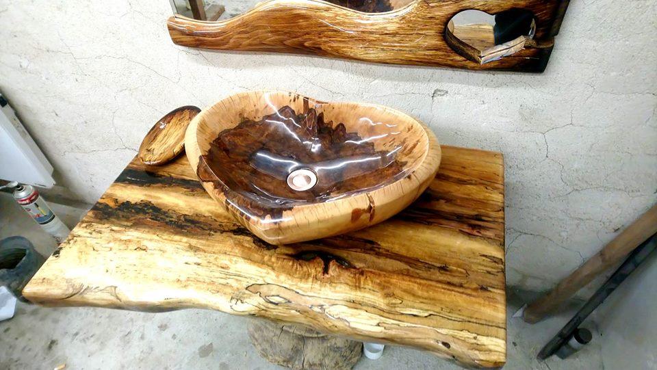 Дърводелски услуги и мивки от дърво