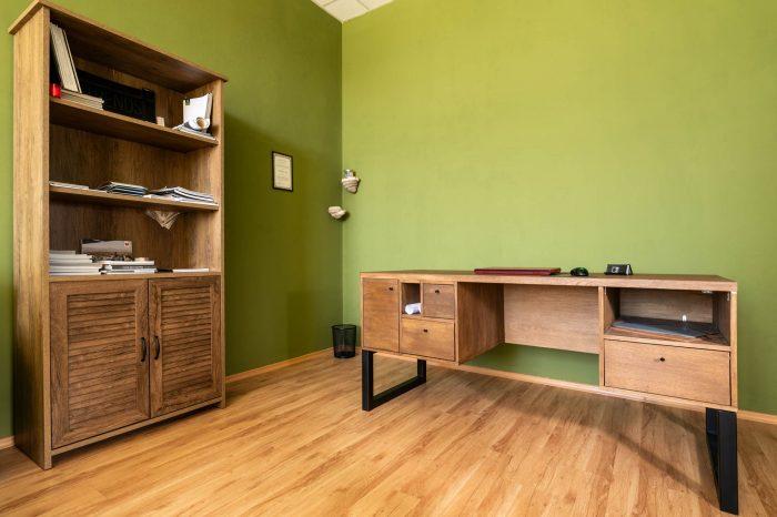 интериор на офис в папратово зелено