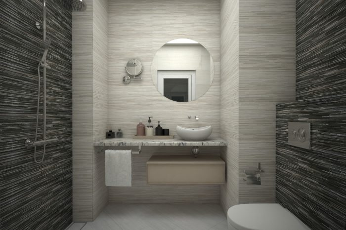 Мраморен плот за баня и релефни плочки